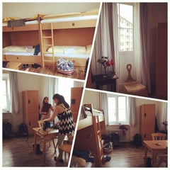 Photo taken at YoHo - International Youth Hostel by Videlcute C. on 5/6/2015