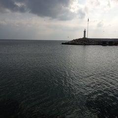 Photo taken at Selimpaşa Liman by Nilüfer E. on 2/18/2013
