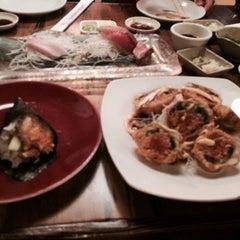 Photo taken at Sushi Boat by Tana N. on 7/18/2014