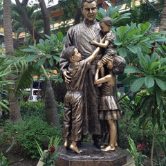 Photo taken at โรงเรียนสอนคนตาบอดพระมหาไถ่พัทยา (Pattaya Redemptorist School for The Blind) by ไปรเวท P. on 7/12/2013