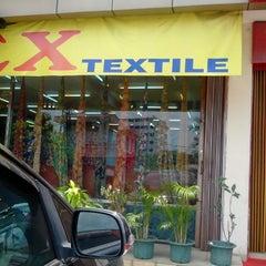 Photo taken at Unitex Textile by rara m. on 10/8/2013