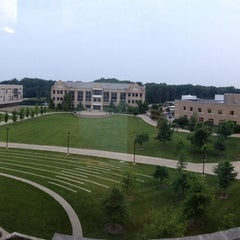 Photo taken at David L. Rice Library by Heath R. on 6/7/2013