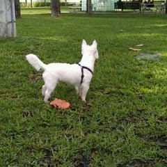 Photo taken at Waterways Dog Park by Kevin K. on 12/16/2012