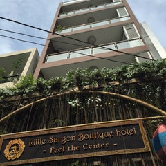 Photo taken at Little Saigon Boutique Hotel by Phunam H. on 1/4/2016