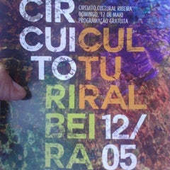 Photo taken at Circuito Cultural Ribeira by Jefferson R. on 5/12/2013