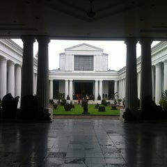 Photo taken at Museum Nasional Indonesia by Gerben D. on 6/12/2013