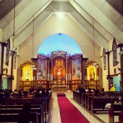 Photo taken at San Jose De Trozo Parish by Jan T. on 5/4/2013