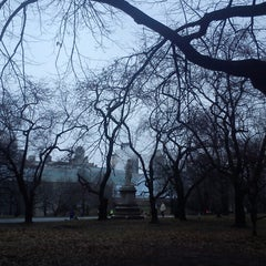 Photo taken at Alexander Hamilton Statue by Racky R. on 1/12/2013