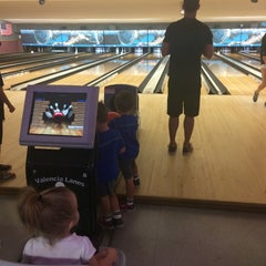 Photo taken at Valencia Lanes by Caitlyn D. on 7/7/2015