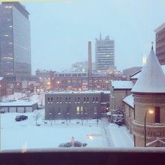 Photo taken at Delta Winnipeg Hotel by Hiro S. on 3/18/2013
