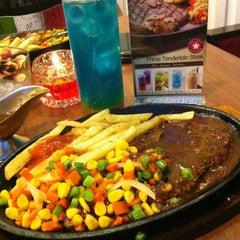Photo taken at Steak 21 by Dyah M. on 12/8/2012