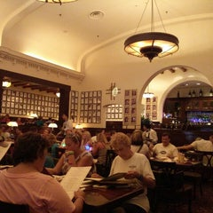 Photo taken at The Hollywood Brown Derby by Sam O. on 6/18/2013