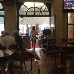 Photo taken at Enetiko Cafe by Dmitry K. on 6/29/2015