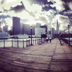 Photo taken at Pier 7 by Loic C. on 11/28/2012