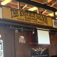 Photo taken at Knuckle Saloon by Amanda on 6/28/2013
