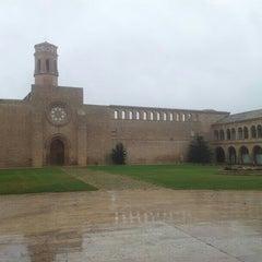 Photo taken at Monasterio de Rueda by Ricardo R. on 4/29/2013
