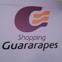 Photo taken at Shopping Guararapes by Eron F. on 11/11/2012