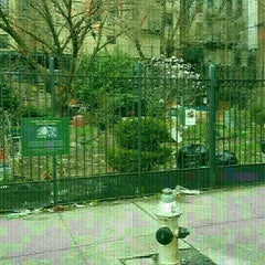 Photo taken at Fordham Bedford Lot Busters Community Garden by Gregory C. on 4/11/2016
