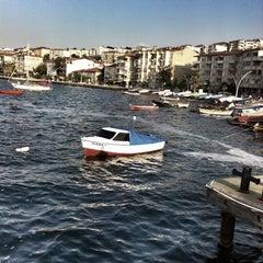 Photo taken at Değirmendere Sahil by özge k. on 8/12/2013