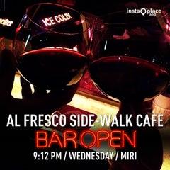 Photo taken at Al Fresco Side-Walk Cafe by Sophia A. on 7/30/2014