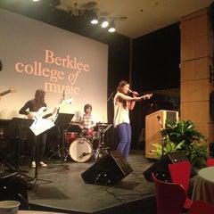 Photo taken at David Friend Recital Hall by Berklee College of Music on 3/27/2013