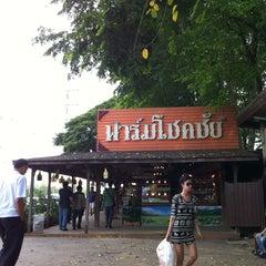 Photo taken at ฟาร์มโชคชัย (Farm Chokchai) by Sivanard J. on 4/27/2013