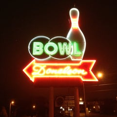 Photo taken at Donelson Bowling Center by Patrick H. on 12/28/2012