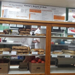 Photo taken at Corey's Bagels by Mark P. on 11/22/2014