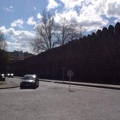 Photo taken at Muralhas da Cidade de Guimarães by ミ★ яєиαŧα ρ. on 3/21/2013