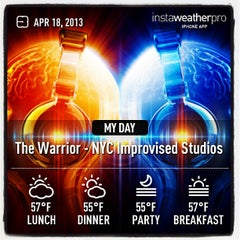 Photo taken at The Warrior Studios (NYC) by Ray MD on 4/18/2013