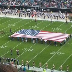 Photo taken at EverBank Field by Casey W. on 12/23/2012
