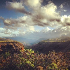 Photo taken at Hanapepe Canyon Lookout by Kristine C. on 9/14/2013