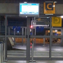 Photo taken at Portão C by Rodrigo C. on 10/22/2012