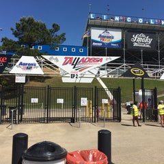 Photo taken at Talladega Superspeedway Allison Grandstands by Ed A. on 5/3/2014