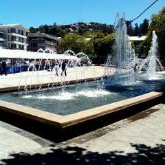 Photo taken at Plaza de Armas Talcahuano by 'Sabrina C. on 11/26/2012