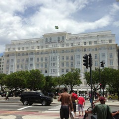 Photo taken at Belmond Copacabana Palace by Língua S. on 1/25/2013
