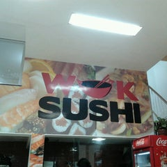 Photo taken at Wok Sushi by Fabiano R. on 4/11/2013