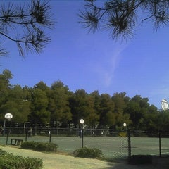 Photo taken at EA Sports Basketball Courts by Gabriel W. on 6/16/2012