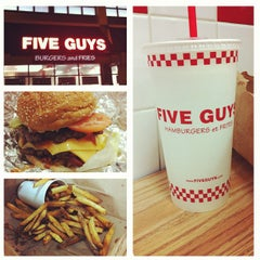 Photo taken at Five Guys by David D. on 2/9/2012