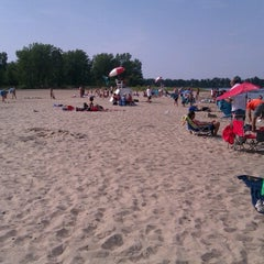 Photo taken at Presque Isle Beach 11 by Todd S. on 7/22/2012