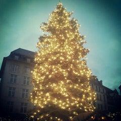 Photo taken at Leipziger Weihnachtsmarkt by Lisa B. on 12/16/2012
