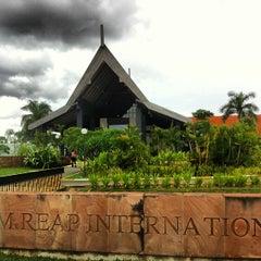 Photo taken at Siem Reap International Airport (REP) by Jana Z. on 6/17/2013
