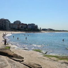 Photo taken at South Cronulla Beach by Rick A. on 4/11/2013