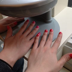 Photo taken at Nails & Pleasure by Kimberly V. on 4/23/2013