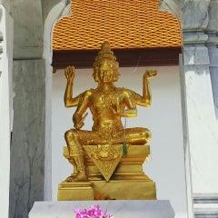 Photo taken at เทวสถาน (โบสถ์พราหมณ์) Dhevasathan (Brahmin Shrines) by boyd s. on 6/28/2015