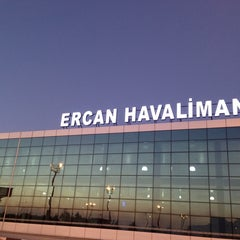 Photo taken at Ercan Havalimanı | Ercan Airport by Yusuf T. on 7/5/2013