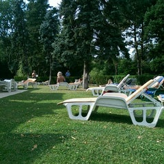 Photo taken at Clubul Floreasca by Ilinca B. on 7/16/2014