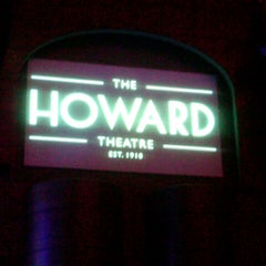 Photo taken at The Howard Theatre by Stacy B. on 10/26/2012