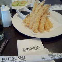 Photo taken at Fuji Sushi by Daisy N. on 11/18/2012