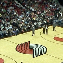 Photo taken at Moda Center at The Rose Quarter by Adam L. on 1/30/2013